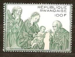 Rwanda Ruanda 1974 OCBn° 608A *** MNH Cote 17,00 Euro Noël Kerstmis Christmas Joos Van Cleve - Rwanda