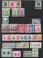 BELGIUM Old Stamp Collection - BELGE / BELGIE.  La Plupart Des Timbres Neufs Sons Sans Charnieres, Mais Pas Tous - Collections