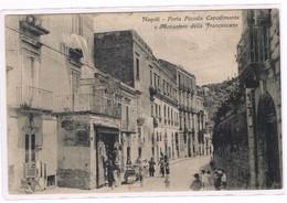 Napoli  Porta Piccola A Capodimonte Monastero Delle Francescane Animata Anni 20 - Napoli