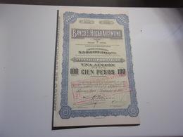 BANCO EL HOGAR ARGENTINO (buenos Aires , Argentine) - Non Classés
