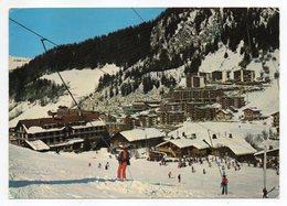 LA CLUSAZ-1982-- Téléski Du Bossonet Et Quartier De La Perrière (petite Animation, Ski )...timbre --cachet .....à Saisir - La Clusaz