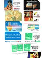 TELECARTES SCHEDE ITALIA LOT 11 Tc (10000L) - Italie