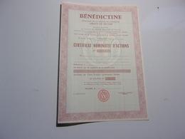 BENEDICTINE Distillerie De Liqueur Abbaye De Fecamp (SEINE MARITIME) - Non Classés