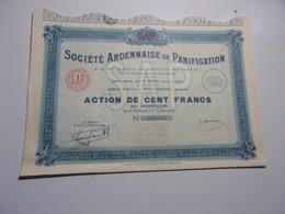 ARDENNAISE DE PANIFICATION (poix Terron , Ardennes) - Non Classés
