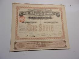 CANADIAN COAL (1910) - Non Classés