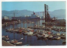 LA SEYNE SUR MER--1978--Le Port-Perspective Sur Le Chantier Naval-(bateau) -timbre--cachet Megève-74....à Saisir - La Seyne-sur-Mer