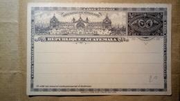 Republica De Guatemala - Errington - Storia Postale - 3 Centavos - Postal Stationery, Intero Postale, EntieIntero - Guatemala
