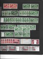 SAMMLUNG FLUGPOSTMARKEN SCHWEIZ → Sehr Umfangreich Mit über 1'100 Briefmarken - Sammlungen