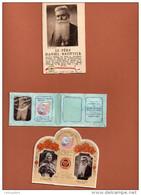 RELIQUAIRE  3 IMAGES   PERE DANIEL BROTTIER  Petite Médaille .... - Images Religieuses