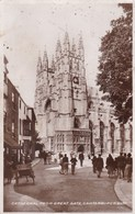 Cathedral From Great Gate, Canterburry (pk56723) - Canterbury