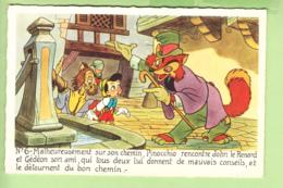WALT DISNEY - PINOCCHIO N° 6 - Pinocchio Rencontre John Le Renard Et Gédéon  - TBE - 2 Scans - Disney