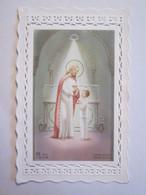 Souvenir De Communion Solenelle Saint Pierre De Castillonès 1964 Michèle Bourgeois Religion - Communion