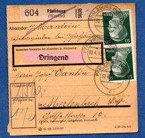 Colis Postal  /  Départ Phalsbourg / 30-04-43 - Allemagne