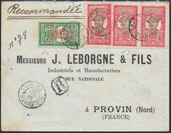 1910 - Martinique - Lettre Recommandee Trinité A Provin , France. - Briefe U. Dokumente