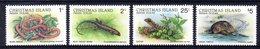 CHRISTMAS AUSTRALIE 0232/35 Serpent , Salamandre , Gecko , Tortue - Reptiles & Batraciens