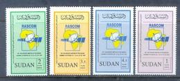 M163- Sudan Soudan 2007 RASCOM Telecommunications Sattelite Organisationen Kommunikation Satelliten Weltall Weltraum Ant - Soudan (1954-...)