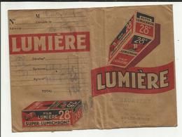 """63 . SAINT ELOY LES MINES . POCHETTE DEVELOPPEMENT PHOTO LUMIERE  .STUDIO   """" A. HEURTEUX """"   RUE JEAN JAURES - Matériel & Accessoires"""