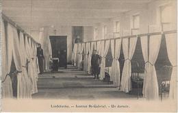 Liedekerke   -   Institut St-Gabriel.   -   Un Dortoir. - Liedekerke