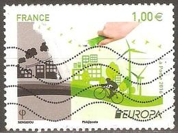 France - 2016 - Ecologie En Europe - YT 5046 Oblitéré - Europa-CEPT