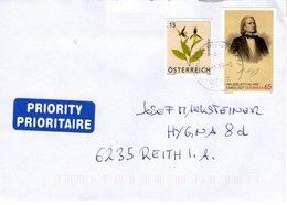 Brief Von 8055 Graz - Puntigam Mit 80 Cent  Mischfrankatur 2019 Franz Liszt - 2011-... Brieven