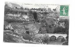 SOUILLAC Château De Belcastel  Carte Postale Ancienne CPA - Souillac