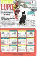 CAL001.19 - CALENDARIETTO 2019 - FRATELLO LUPO - IL RITORNO DEI PROFUGHI DI LUSERNA - MOSTRA ZIMBAR EARDE - Calendari