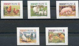 Jersey 2010: Michel 1366-70 II ** MNH  START Unter Postpreis - DÉPART Sous La  Faciale - START Below Face Value (£2,50) - Agriculture