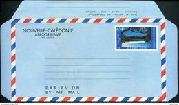 NOUVELLE CALEDONIE - AEROGRAMME N° 12 * * - BAIE DE KANUMERCE - LUXE - Luftpost