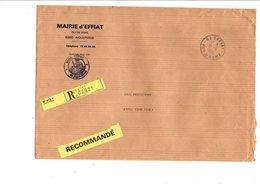LETTRE DE MAIRIE D'EFFIAT PUY DE DOME - Marcophilie (Lettres)