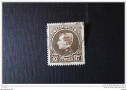 Belgique 1929 N° 289 Oblitéré *  : Le Roi Albert 1er  Type Montenez - 1929-1941 Grand Montenez