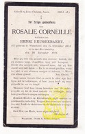 DP Rosalie Corneille ° Wijtschate Heuvelland 1834 † 1921 X Henri Heughebaert - Imágenes Religiosas