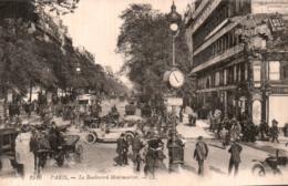 75 PARIS LE BOULEVARD MONTMARTRE CIRCULEE 1919 - Unclassified
