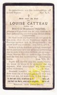 DP Louise Catteau / Traché 26j. ° Wijtschate Heuvelland 1898 † 1924 - Images Religieuses