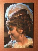 Vintage Soviet Postcard 1976 Russian Academic Bolshoi Theatre. MILASHKINA Famous OPERA Star As Toska By Puccini - Opera