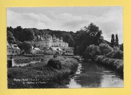 CPM..dépt 37..RIGNY USSE :  Le  Château Et L'Indre   : Voir Les 2 Scans - France