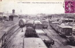 45 - Loiret - ORLEANS - Vue Panoramique De La Gare Du P.O - Orleans