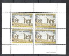 Schweiz Soldatenmarken Telegraphenpioniere Compagnie Telegraphe 16 Landwehr ** - Soldaten Briefmarken