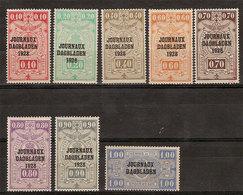 (Fb).Belgio.Francob. Per Giornali.1928-29.Lotto 8 Val Nuovi (256-18) - Giornali