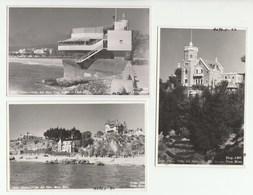 Chile - Vina Del Mar - 3 Real Photo Postcards - Chili