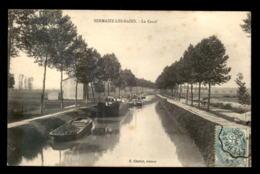 51 - SERMAIZE-LES-BAINS - LE CANAL - PENICHES - Sermaize-les-Bains