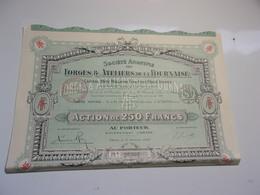 FORGES & ATELIERS DE LA FOURNAISE (1920) SAINT-DENIS - Non Classés