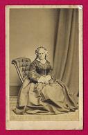Photographie Ancienne - Cliché S. A. Whitley à Manchester Bolton - Portrait D'une Femme - Personas Anónimos