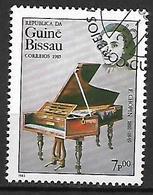 GUINEE - BISSAU      -    1985 .  Frédéric CHOPIN  /  Piano.  Oblitéré. - Guinée-Bissau