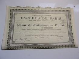 Compagnie Générale Des OMNIBUS DE PARIS (1940) - Non Classés