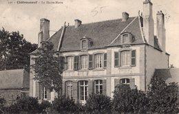 Châteauneuf De Bretagne (35) - Le Château De La Haute - Motte. - Francia