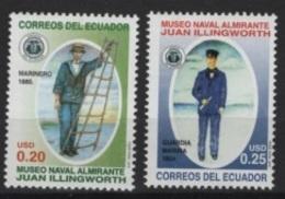 Ecuador (2006) Yv. 2015/16  /   Bateaux - Ships - Maritime Museum - Ecuador