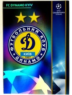 Dynamo Kiev Ukraine - Official Trading Card Champions League 2008-2009, Panini Italy - Singles (Simples)