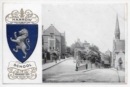 Harrow School - Embossed Crest - London Suburbs