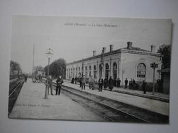 34 Agde, La Gare (intérieur). Carte Inédite (4416) - Agde