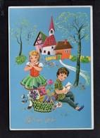 Illustrateur ( ? ) / Dessin Non Signé à Identifier / Bonne Fête / Enfants / Edition M.D. - Ilustradores & Fotógrafos